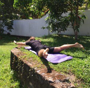 Dry swimming training
